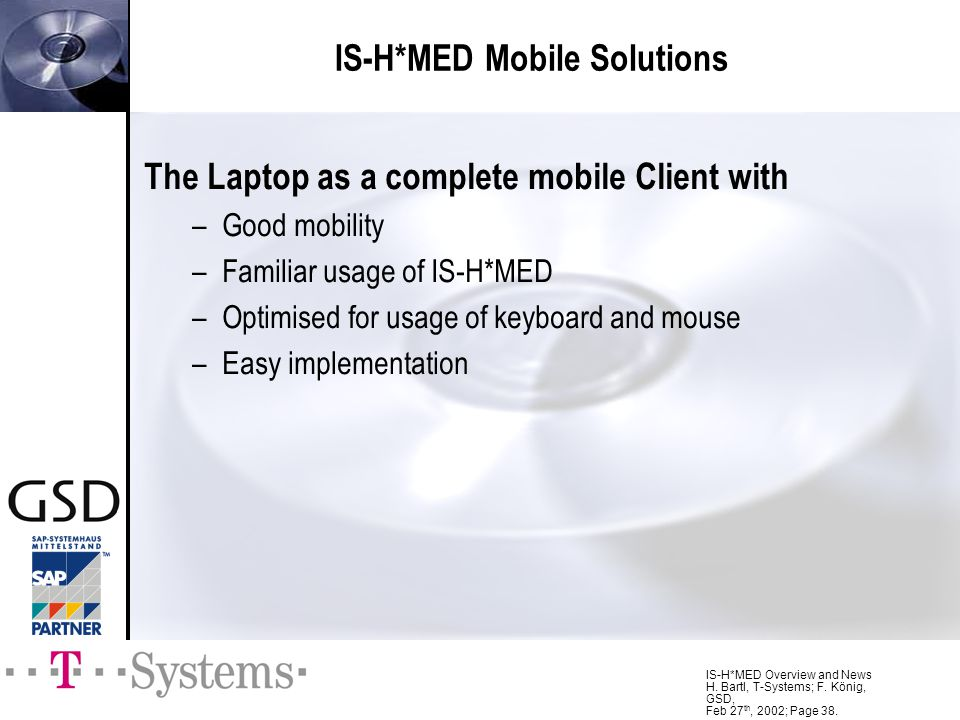 IS-H*MED Mobile Solutions