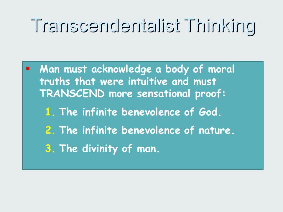 Transcendentalist Thinking