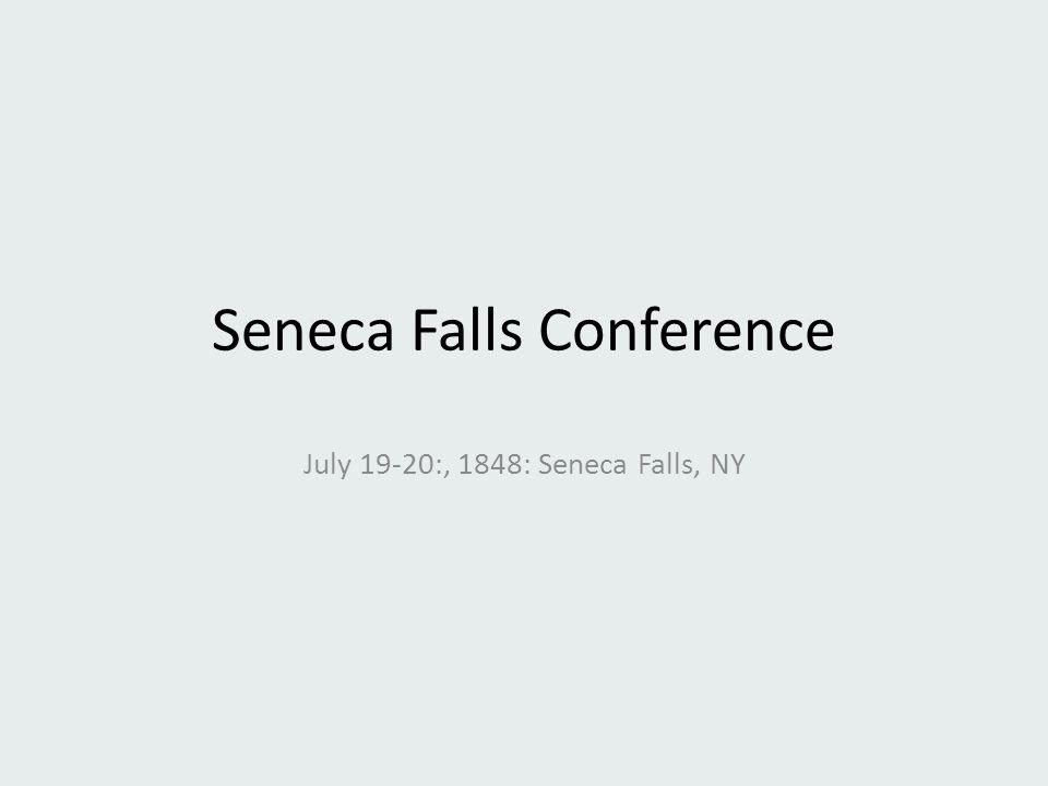 Seneca Falls Conference