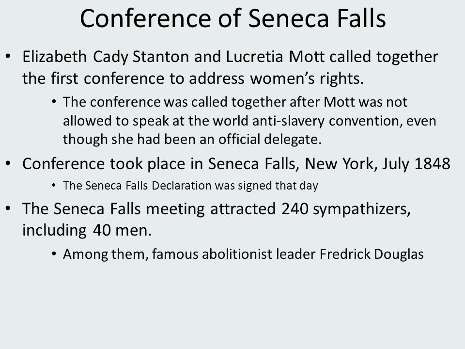 Conference of Seneca Falls