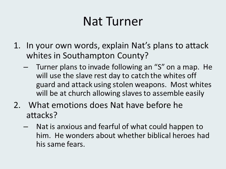 ppt  6 nat turner in your own words