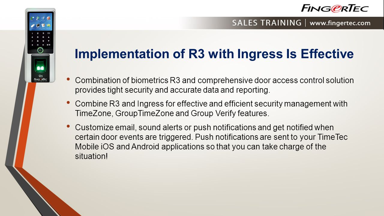 Implementation of R3 with Ingress Is Effective