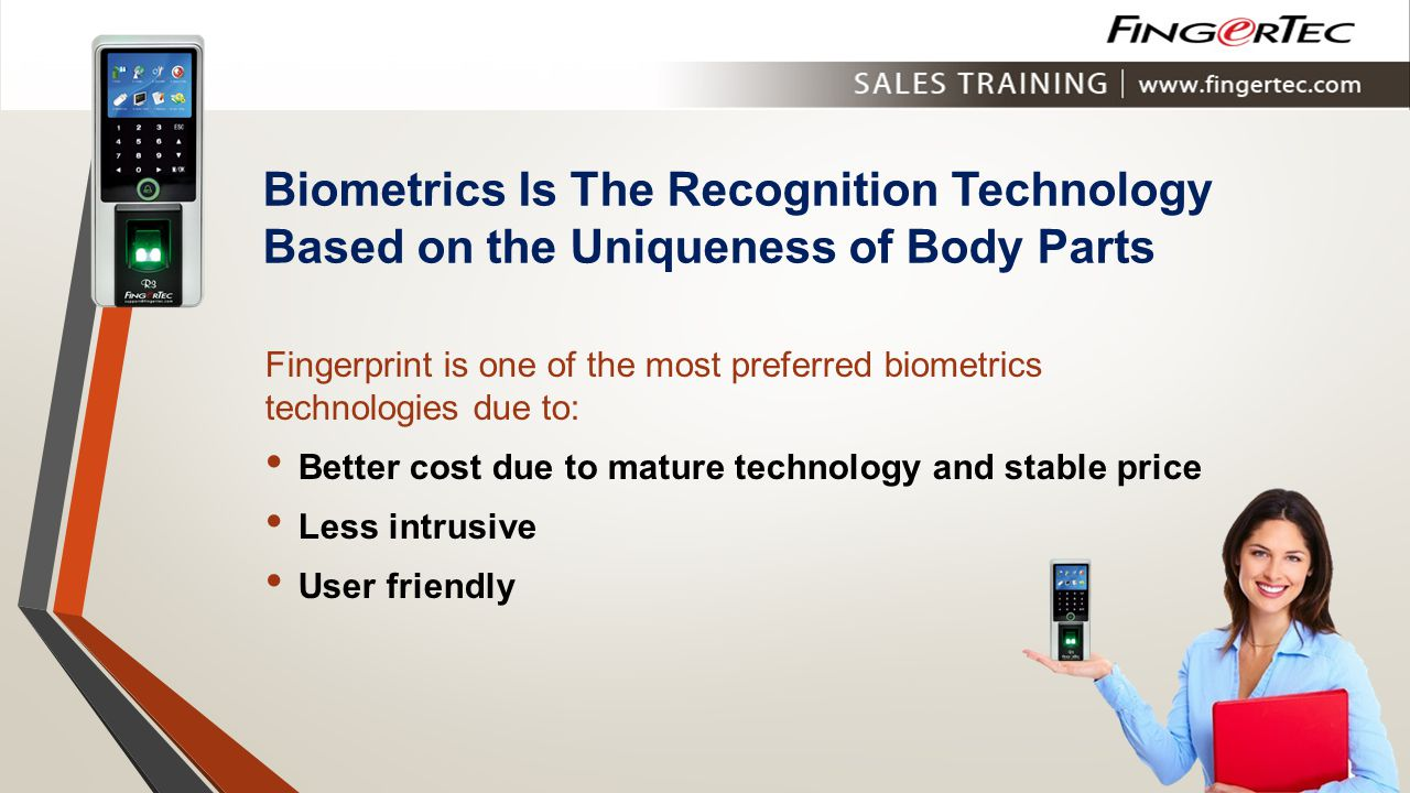 Biometrics Is The Recognition Technology Based on the Uniqueness of Body Parts