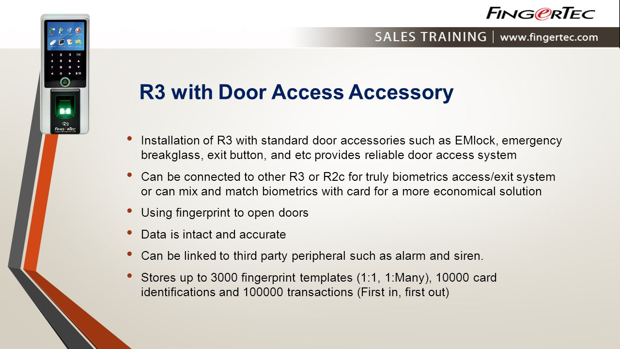 R3 with Door Access Accessory