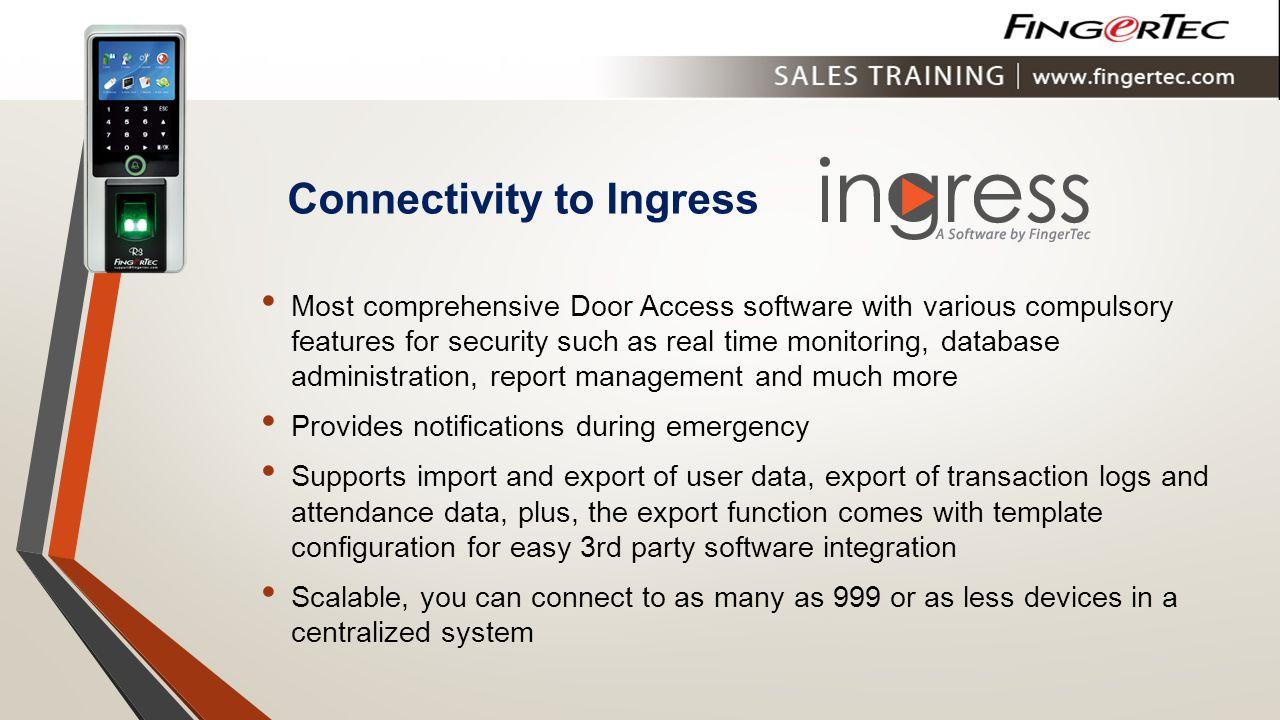 Connectivity to Ingress