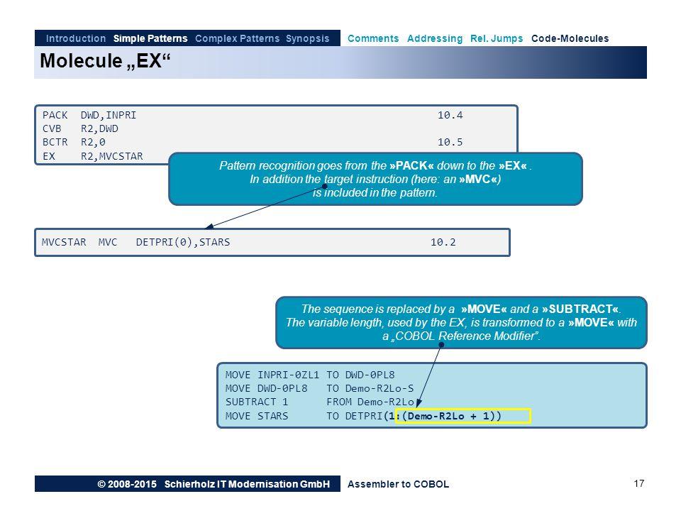"Molecule ""EX PACK DWD,INPRI 10.4 CVB R2,DWD BCTR R2,0 10.5"
