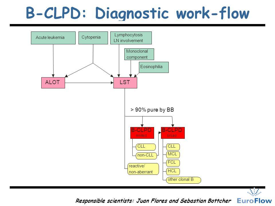 B-CLPD: Diagnostic work-flow