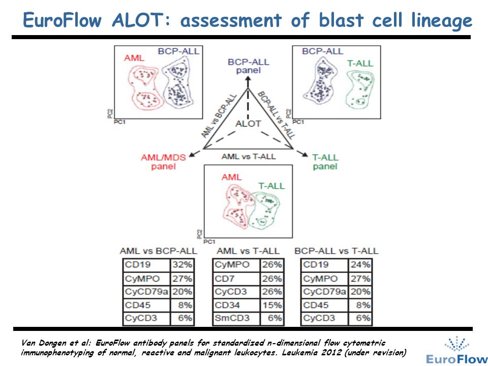 EuroFlow ALOT: assessment of blast cell lineage