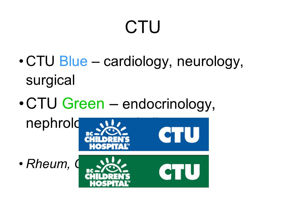 CTU CTU Green – endocrinology, nephrology, metabolics
