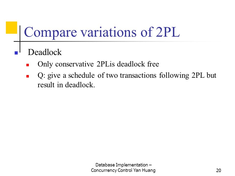 Compare variations of 2PL