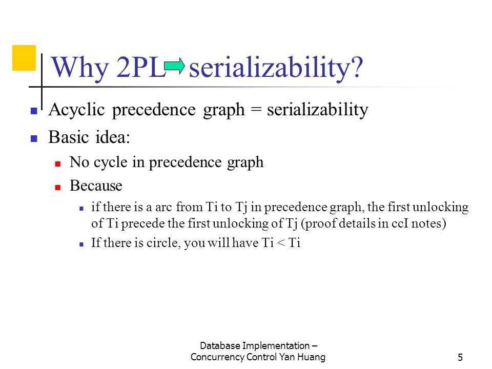 Why 2PL serializability