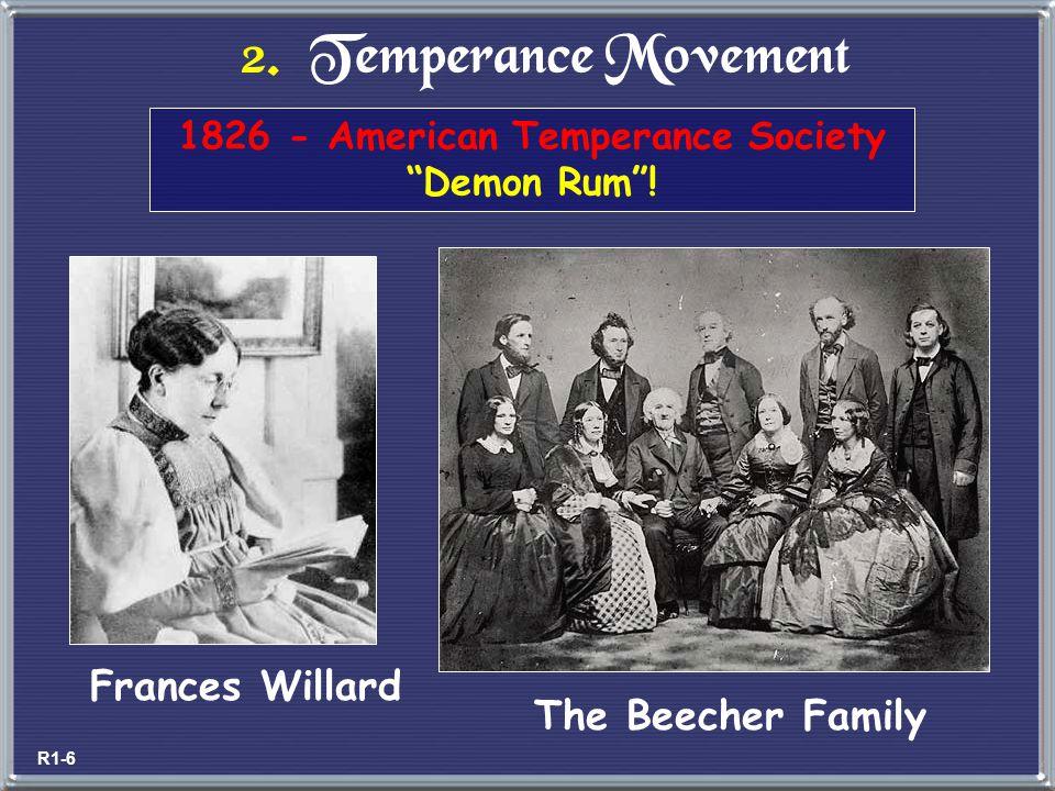 1826 - American Temperance Society Demon Rum !