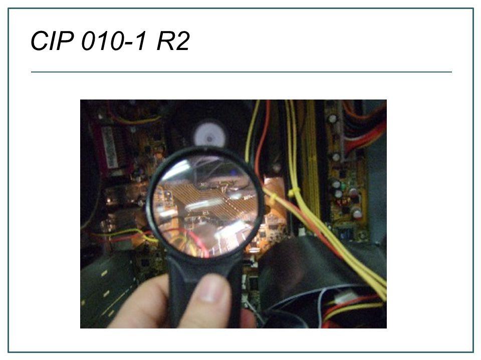 CIP 010-1 R2