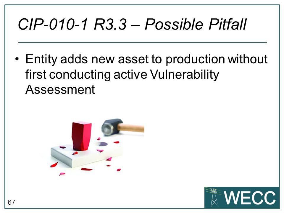 CIP-010-1 R3.3 – Possible Pitfall