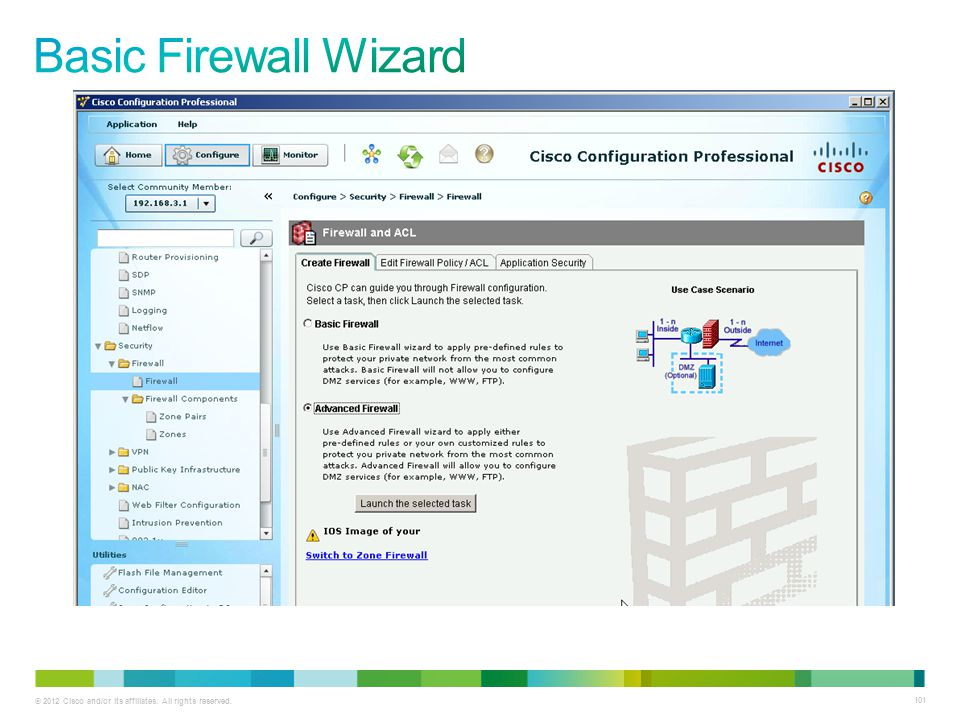 Basic Firewall Wizard