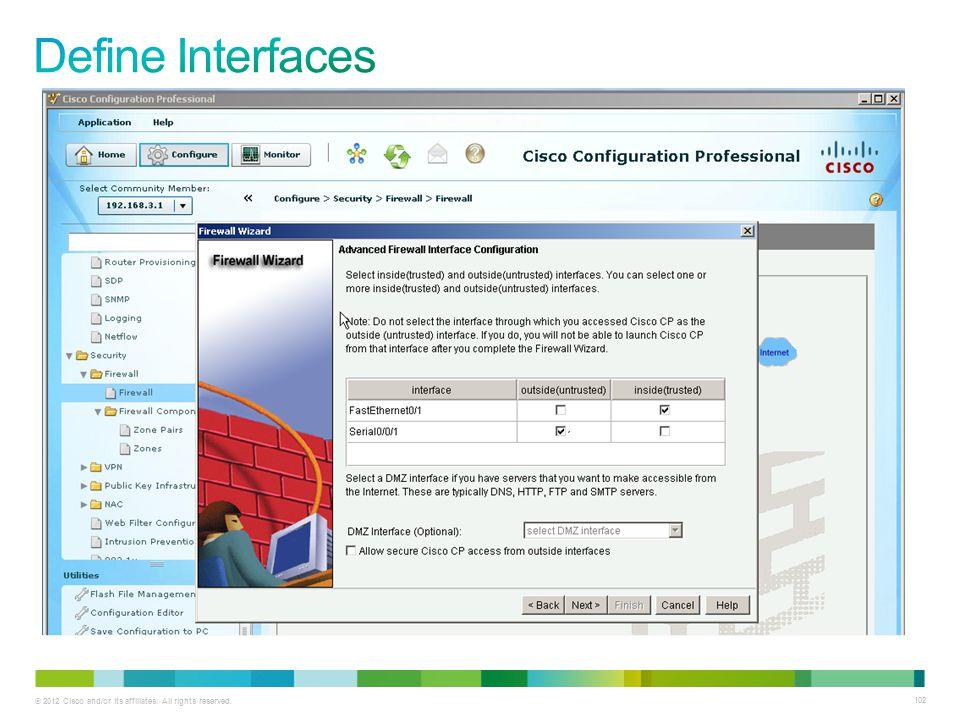Define Interfaces