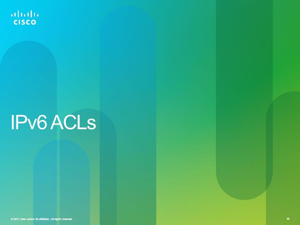 IPv6 ACLs