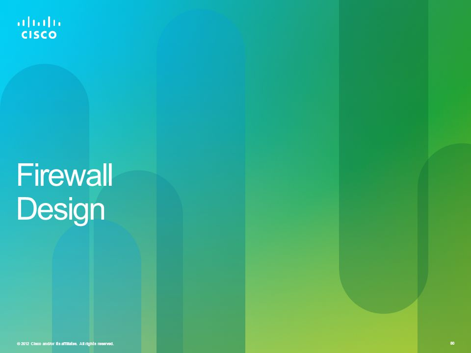 Firewall Design