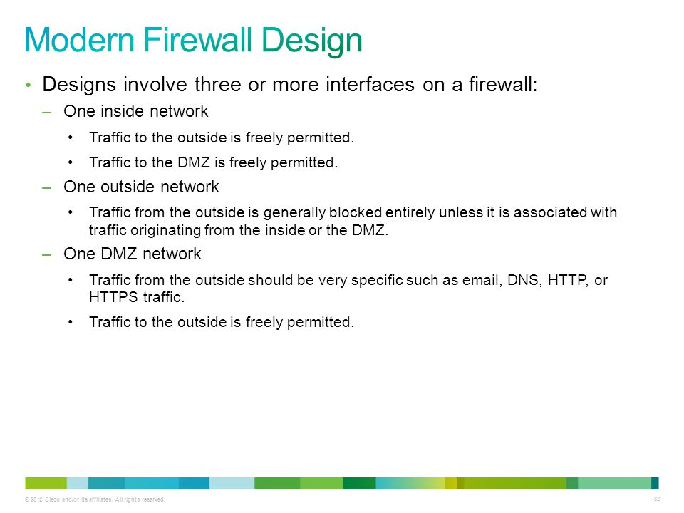 Modern Firewall Design