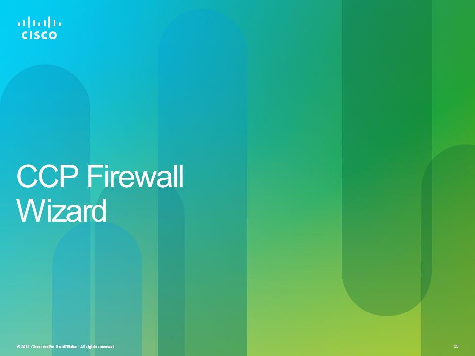 CCP Firewall Wizard