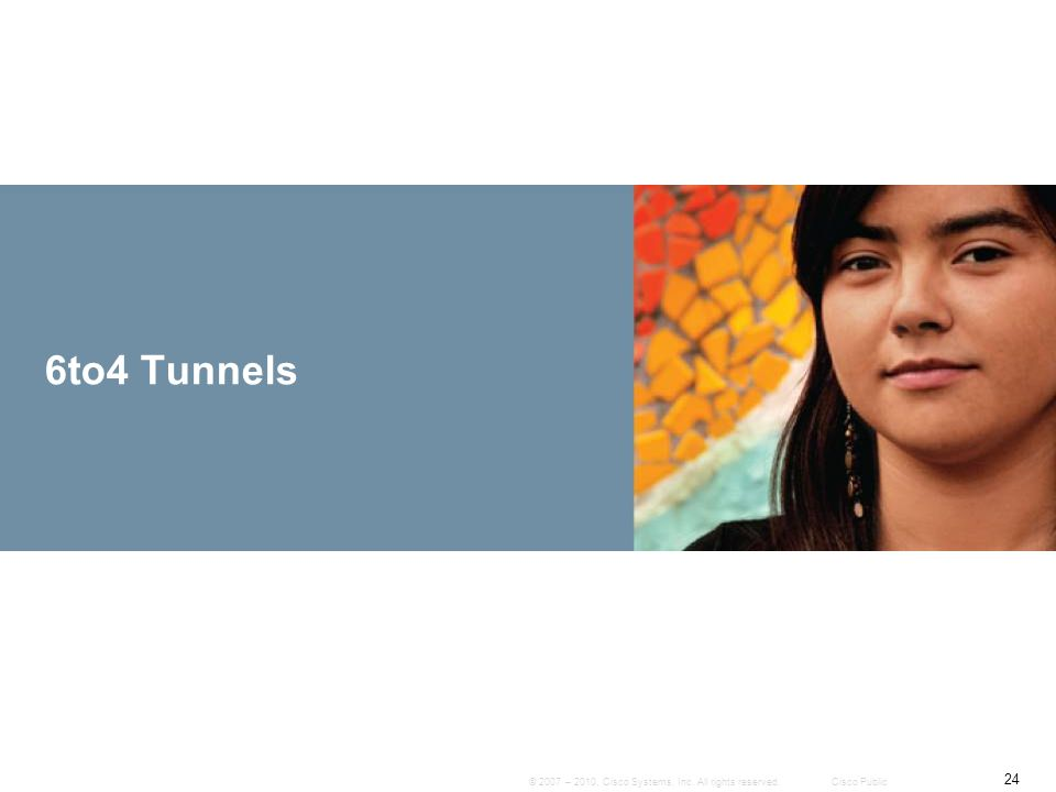 6to4 Tunnels