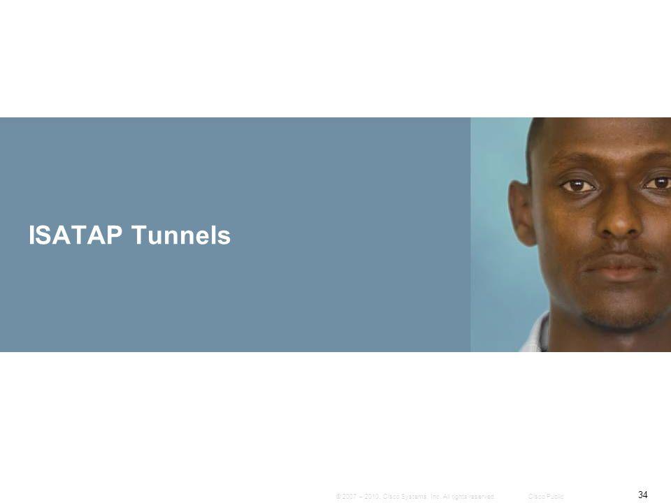 ISATAP Tunnels