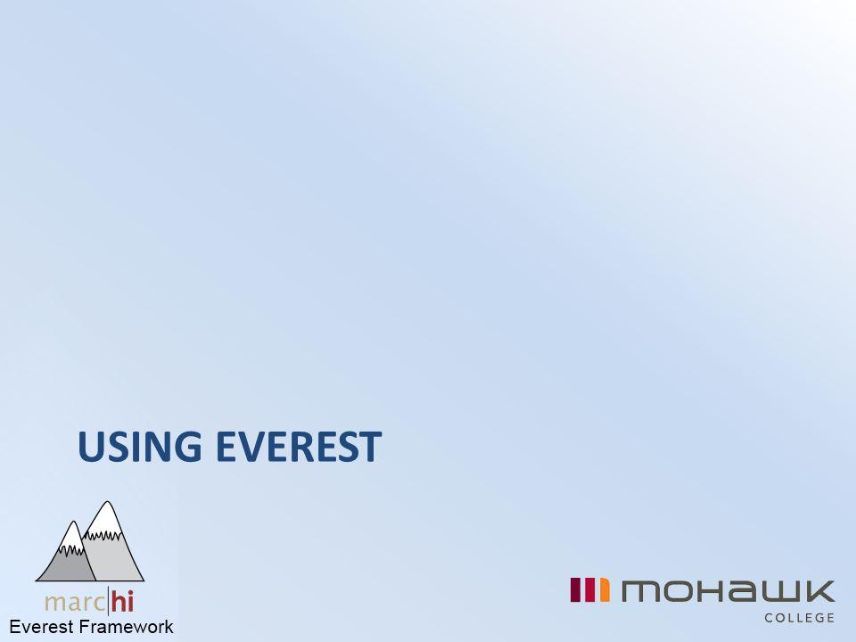 Using Everest