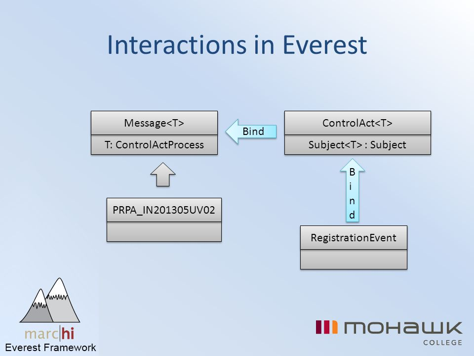 Interactions in Everest