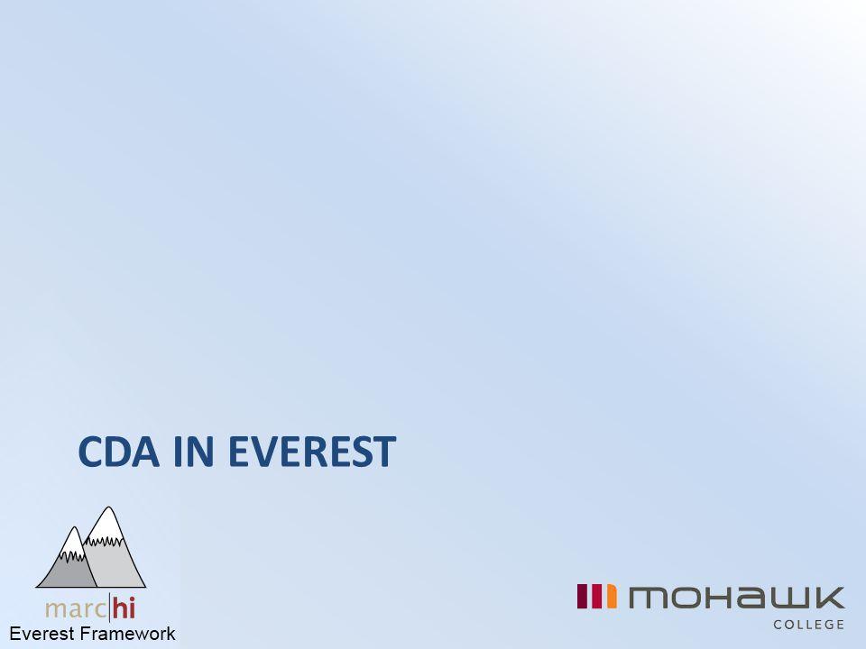 CDA in Everest