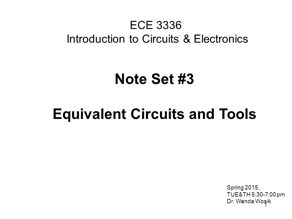 ece 3336 introduction to circuits  u0026 electronics