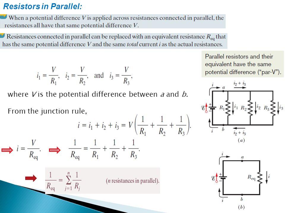 Resistors in Parallel: