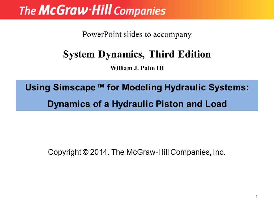 System Dynamics, Third Edition