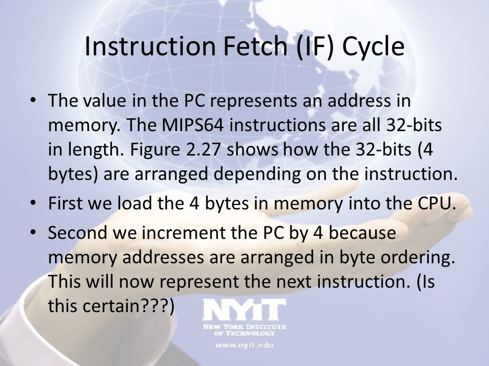 Instruction Fetch (IF) Cycle