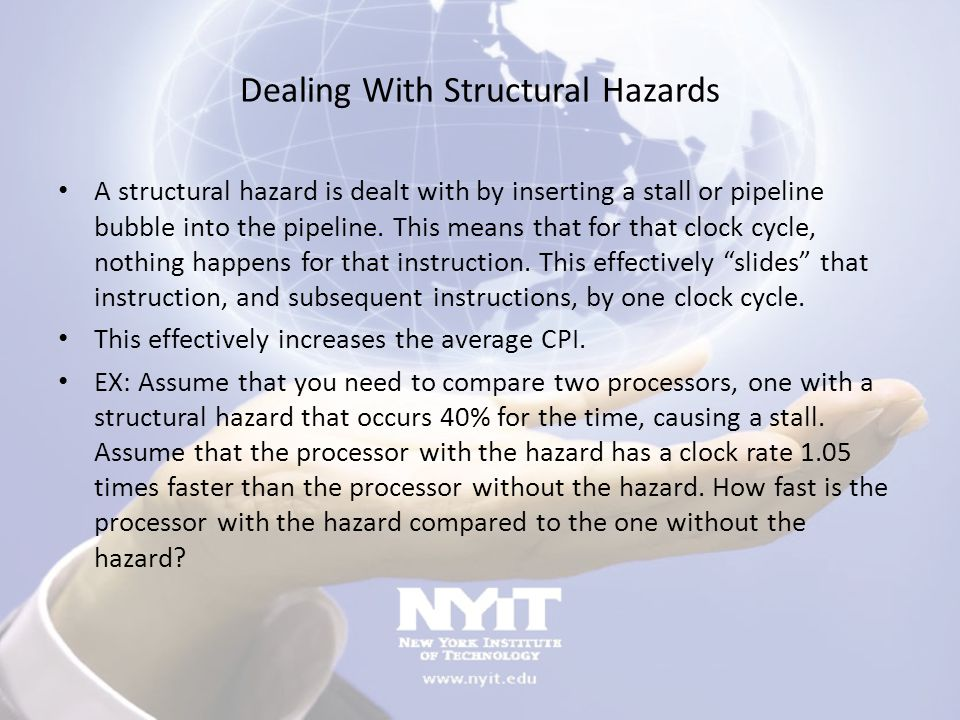 Dealing With Structural Hazards