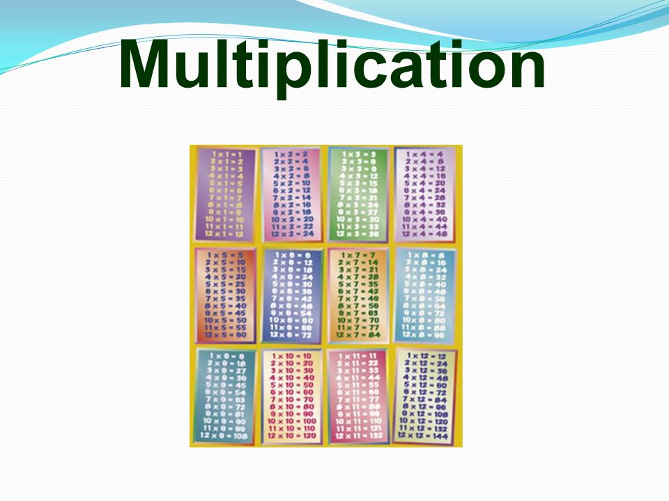 Multiplication 17