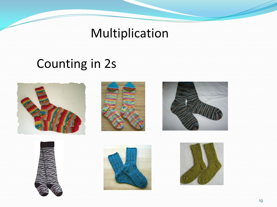 Multiplication Counting in 2s
