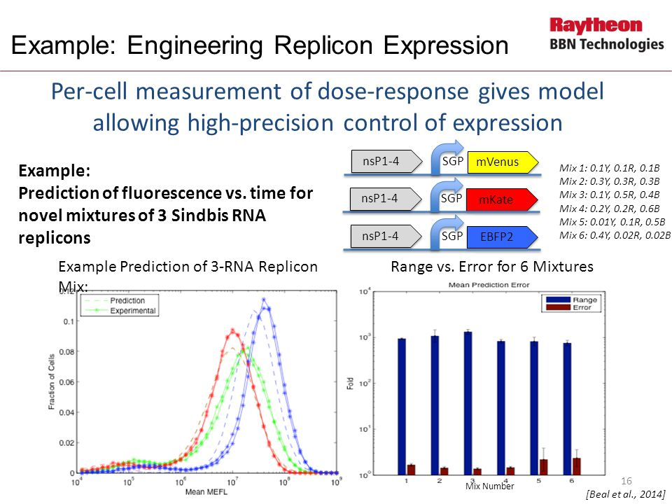 Example: Engineering Replicon Expression