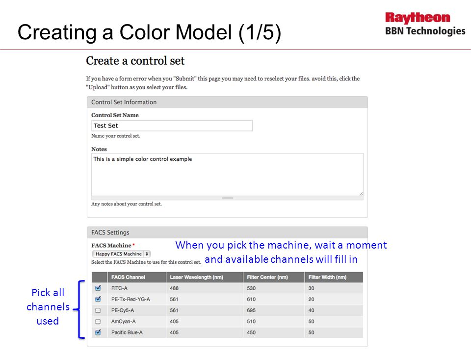 Creating a Color Model (1/5)