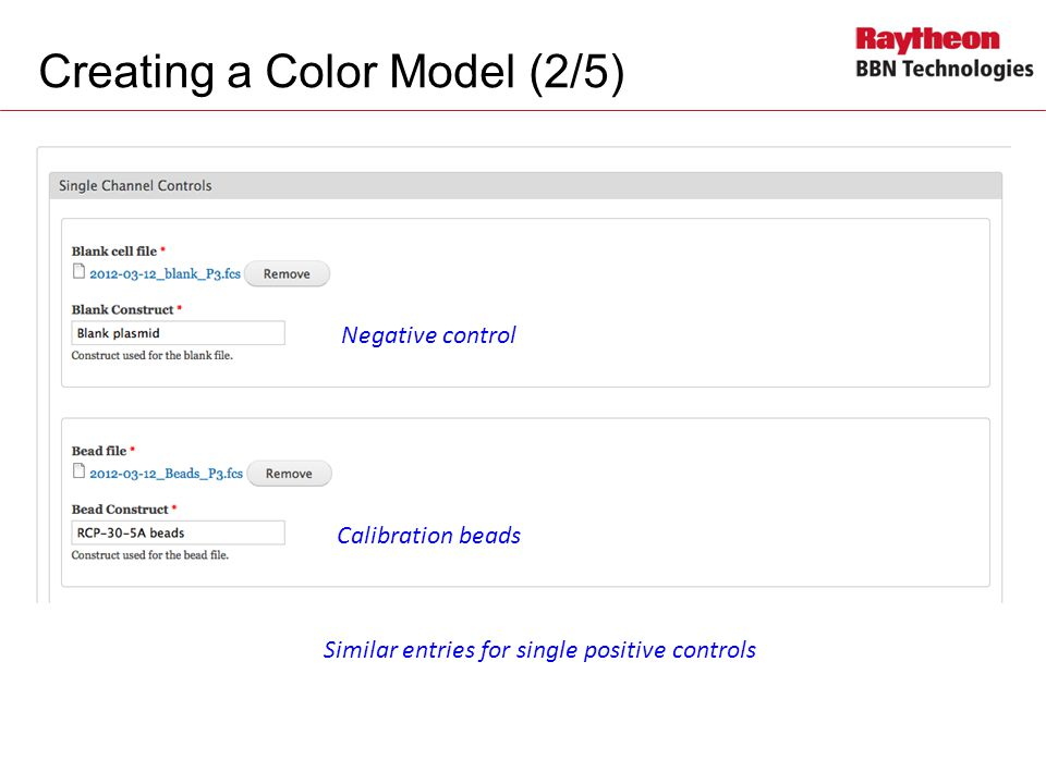 Creating a Color Model (2/5)