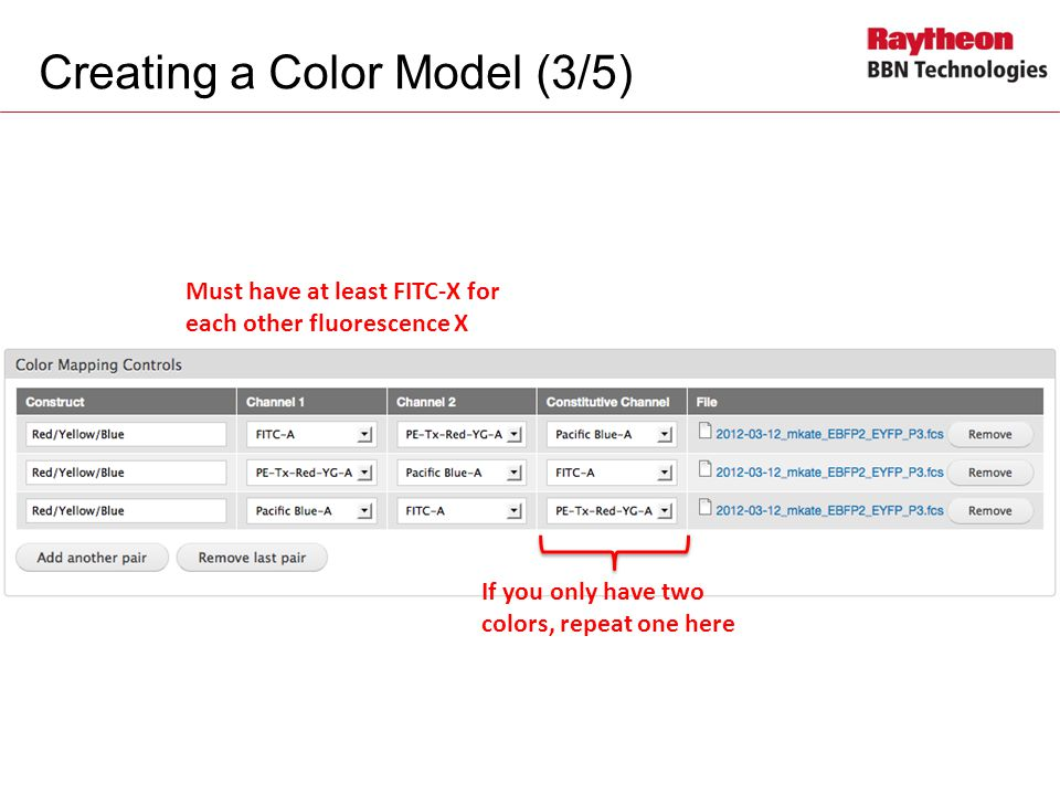 Creating a Color Model (3/5)