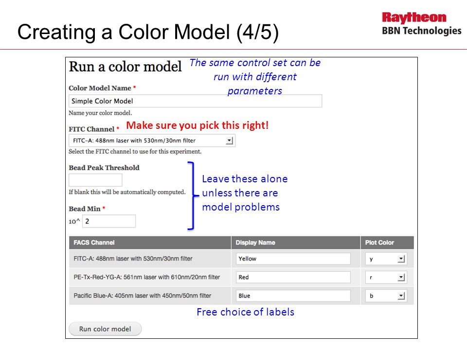 Creating a Color Model (4/5)