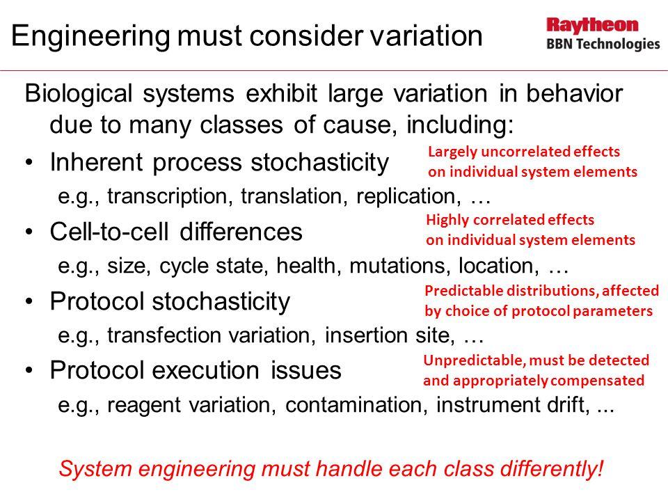 Engineering must consider variation