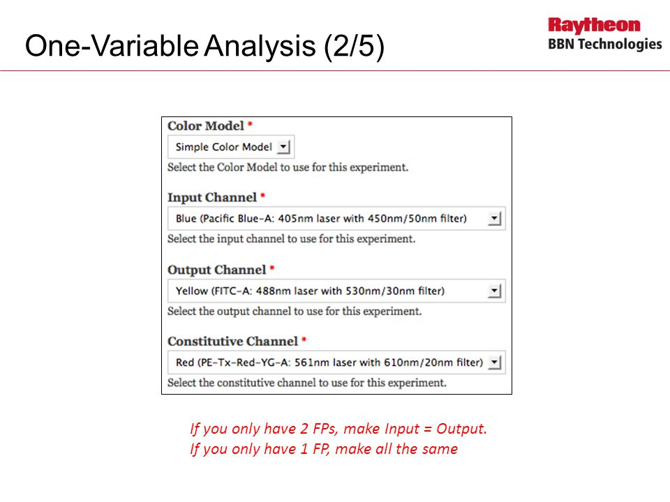 One-Variable Analysis (2/5)