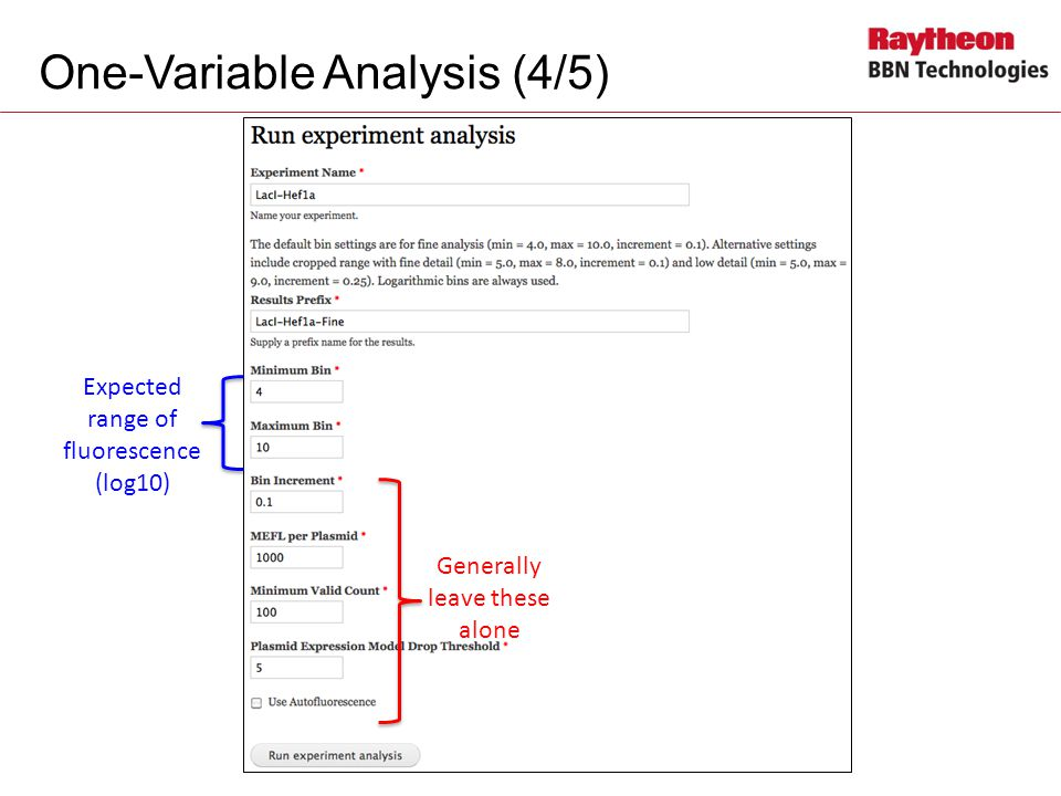 One-Variable Analysis (4/5)