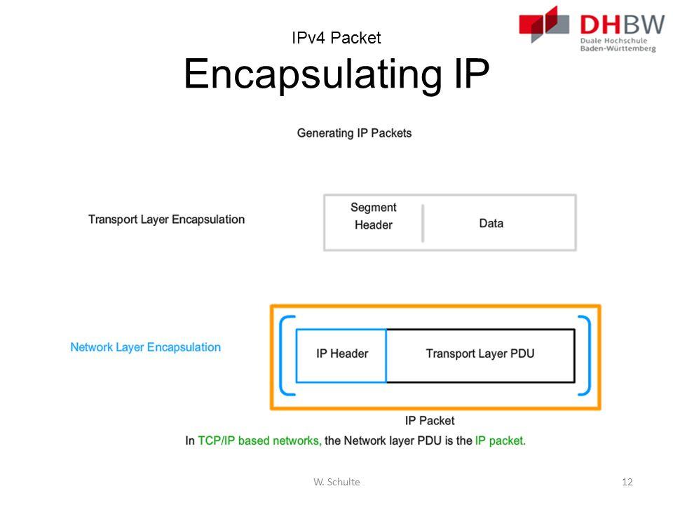 IPv4 Packet Encapsulating IP
