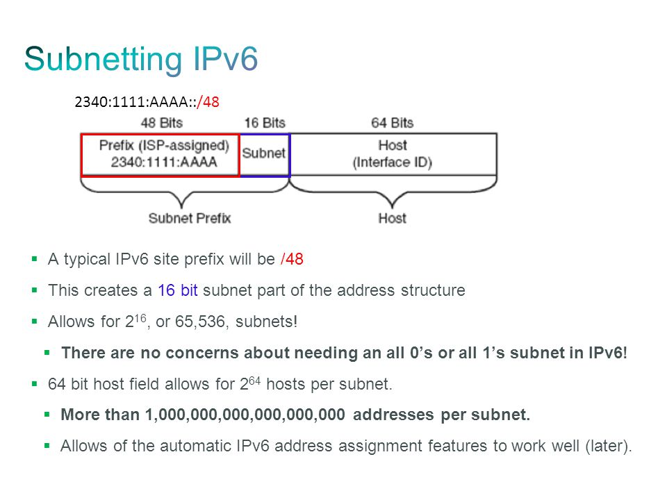 ipv6 address assignment People don't like changes ipv6 could have help to solve a lot of the burden in networks deployed today, which are still mostly based on the original version of the internet protocol, aka version 4.
