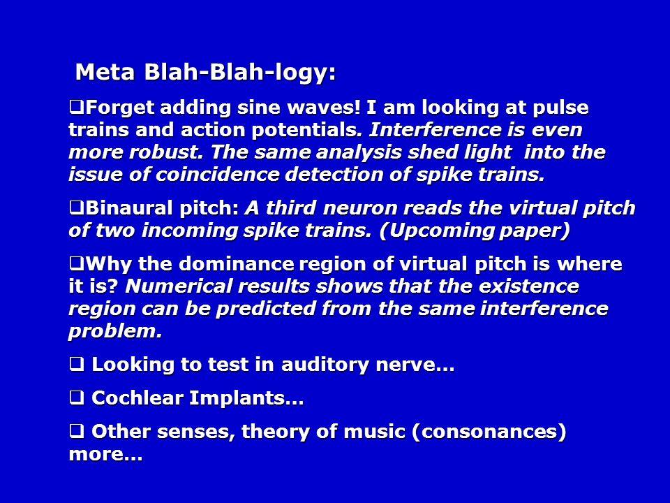Meta Blah-Blah-logy: