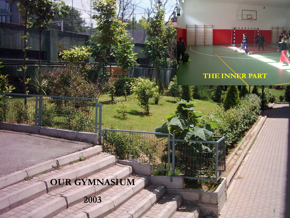 THE INNER PART OUR GYMNASIUM 2003