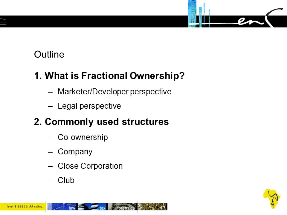 What is Fractional Ownership