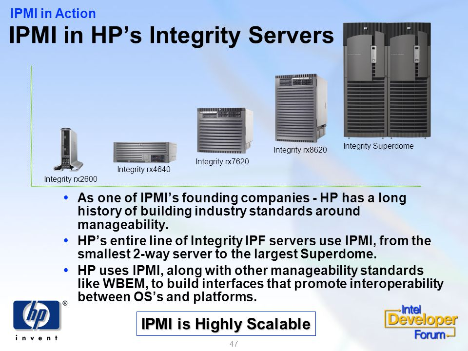 IPMI in HP's Integrity Servers